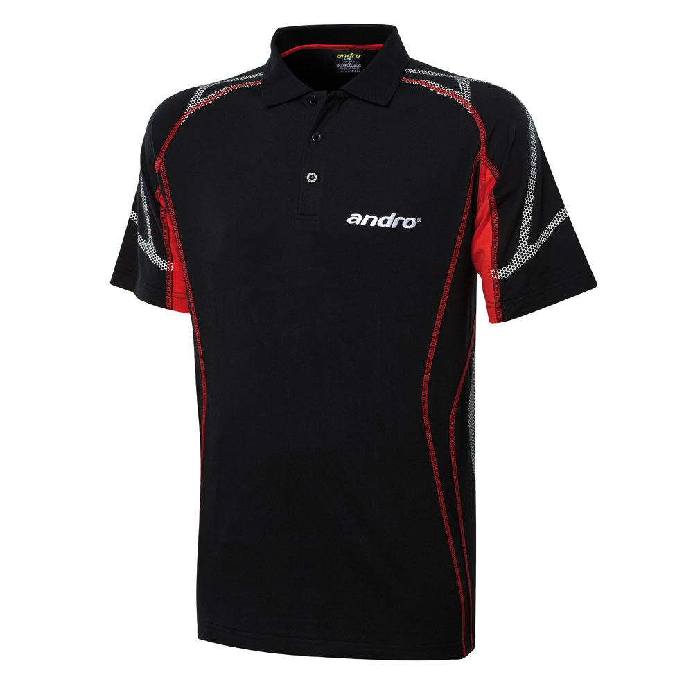 302319 kolima shirt blk red